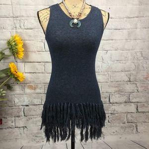 The Limited | NWT Tassel Boho Sleeveless Sweater